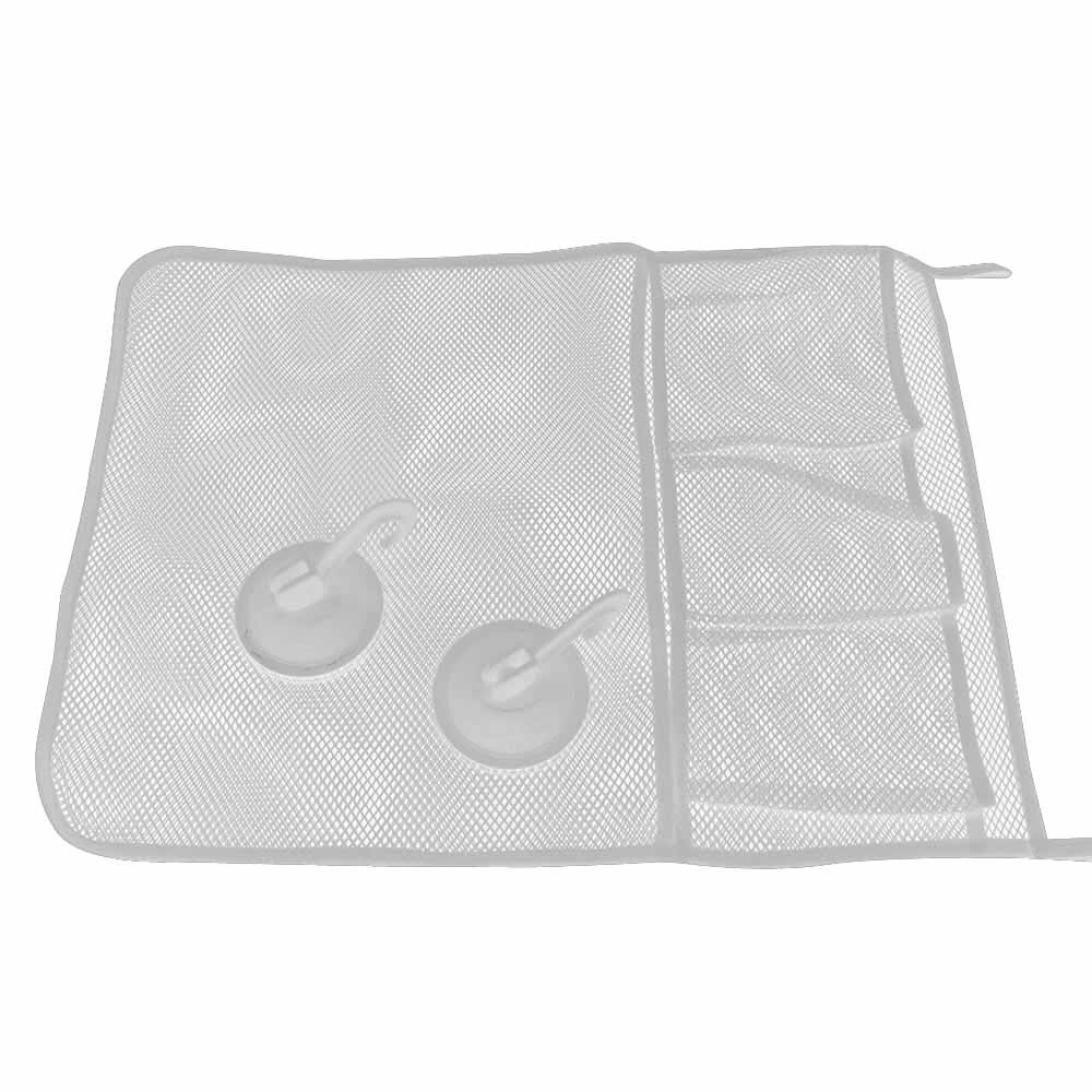 Clearance Deal! Hot Sale!Toys Storage Bag, Fitfulvan Baby Bath Time Toy Tidy Storage Hanging Bag Mesh Bag Mesh Bathroom Organiser Net (White) by Fitfulvan (Image #2)