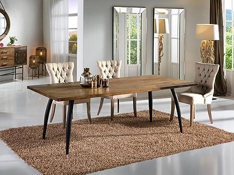 Tavolo Da Pranzo Industriale : Schuller tavolo da pranzo stile industriale dresda