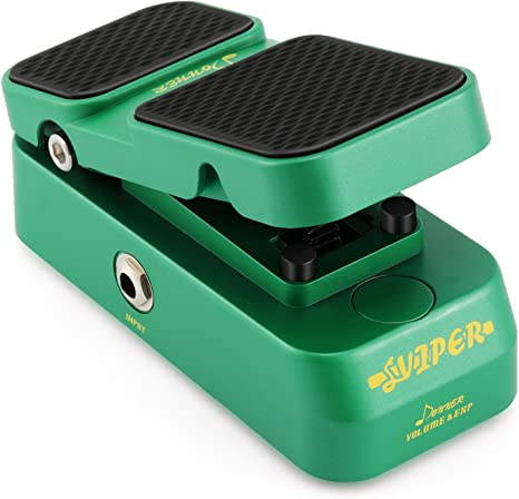 Donner Viper 2 en 1 Pedal de Expresión / Mini Pedal del volumen ...