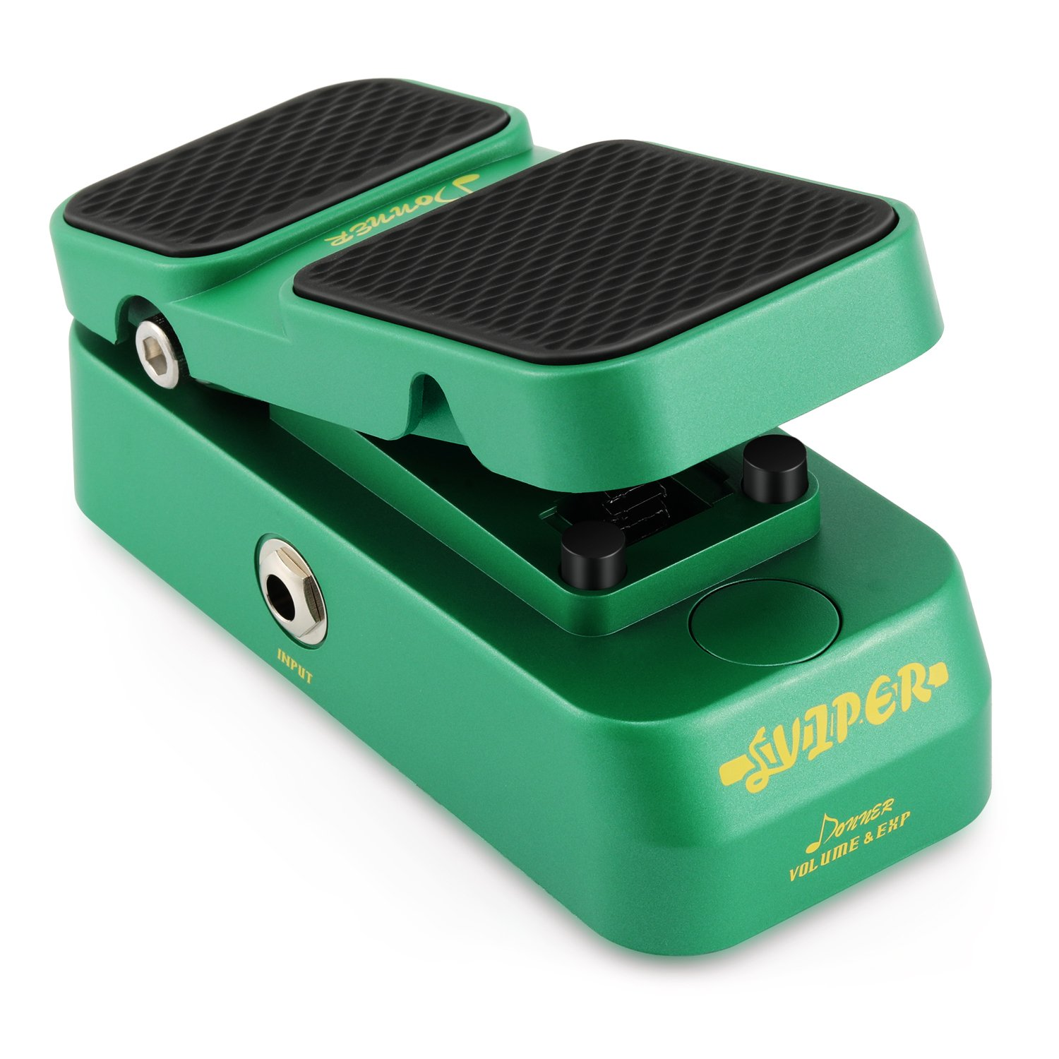 Donner 2 in 1 Viper Mini Passive Volume Expression Guitar Effect Pedal by Donner