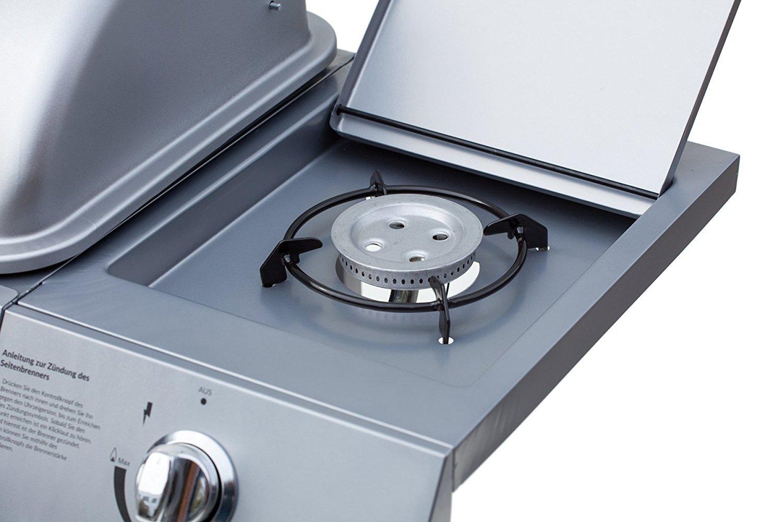 Aldi Gasgrill Schweiz : Broil master bbq gasgrill 4 1 silber de at ch mit grill