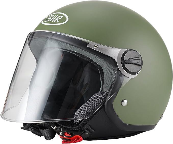 57//58/cm M BHR 09758/Motorrad Helm Demi-Jet Line One 801