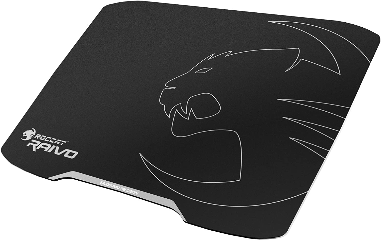 ROCCAT RAIVO 2mm High-Velocity Ergonomic Gaming Mousepad, Midnight Black