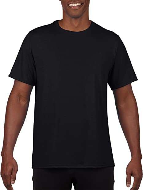 2-Pack Gildan Mens Fitted Cotton T-Shirt