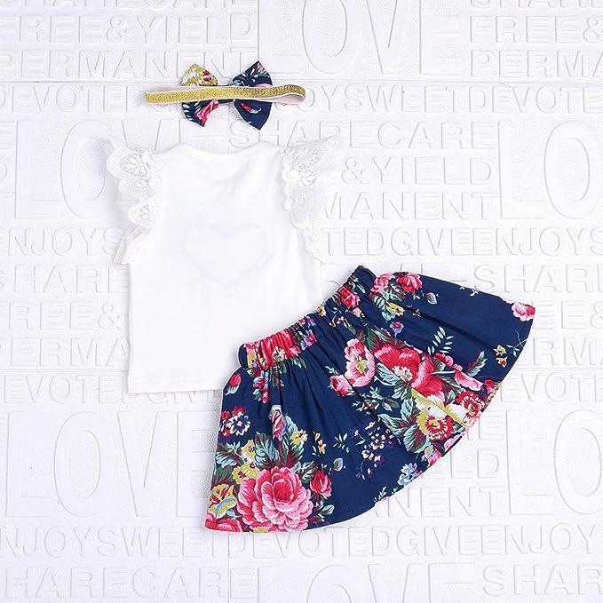 77a1c4948 Bestoppen baby outfits - Mono - para bebé niña Blanco Blanco  Amazon.es   Ropa y accesorios