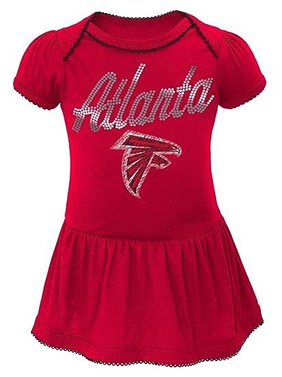 5d9ae3e09 Amazon.com   Outerstuff Atlanta Falcons NFL Dazzled Infant Girls ...