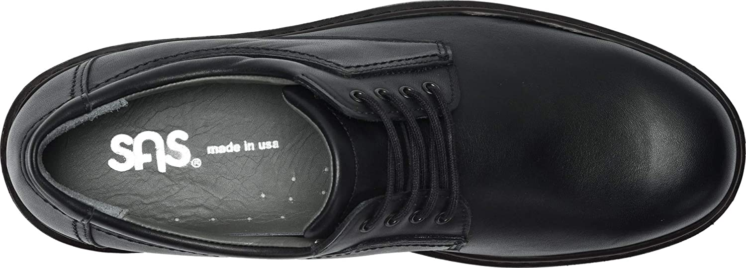 US Triple Wide SAS Mens Aden Black 6.5 WWW 3E