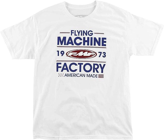 Amazon Com Fmf Racing Men S Recoil Tee T Shirt White M Automotive