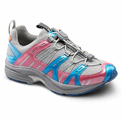 5fa03018580f Image Unavailable. Image not available for. Color  Dr. Comfort Refresh  Women s Therapeutic Athletic Shoe  Berry 5.0 Medium ...