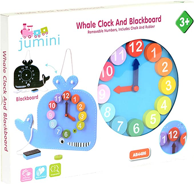 Ne Sapplique P Learning Resources Resources-LER2385 Horloge d/'Apprentissage Tac de LER2385