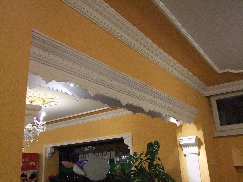 4 Ecken Styroporleisten Zierleisten Eckleisten Stuckleisten 115x115mm K 2 20 m