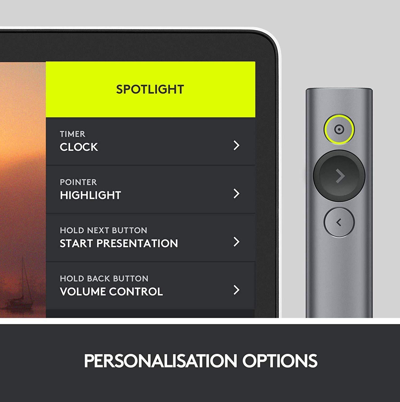 Amazon.com: Logitech Spotlight 910-004654 control remoto ...