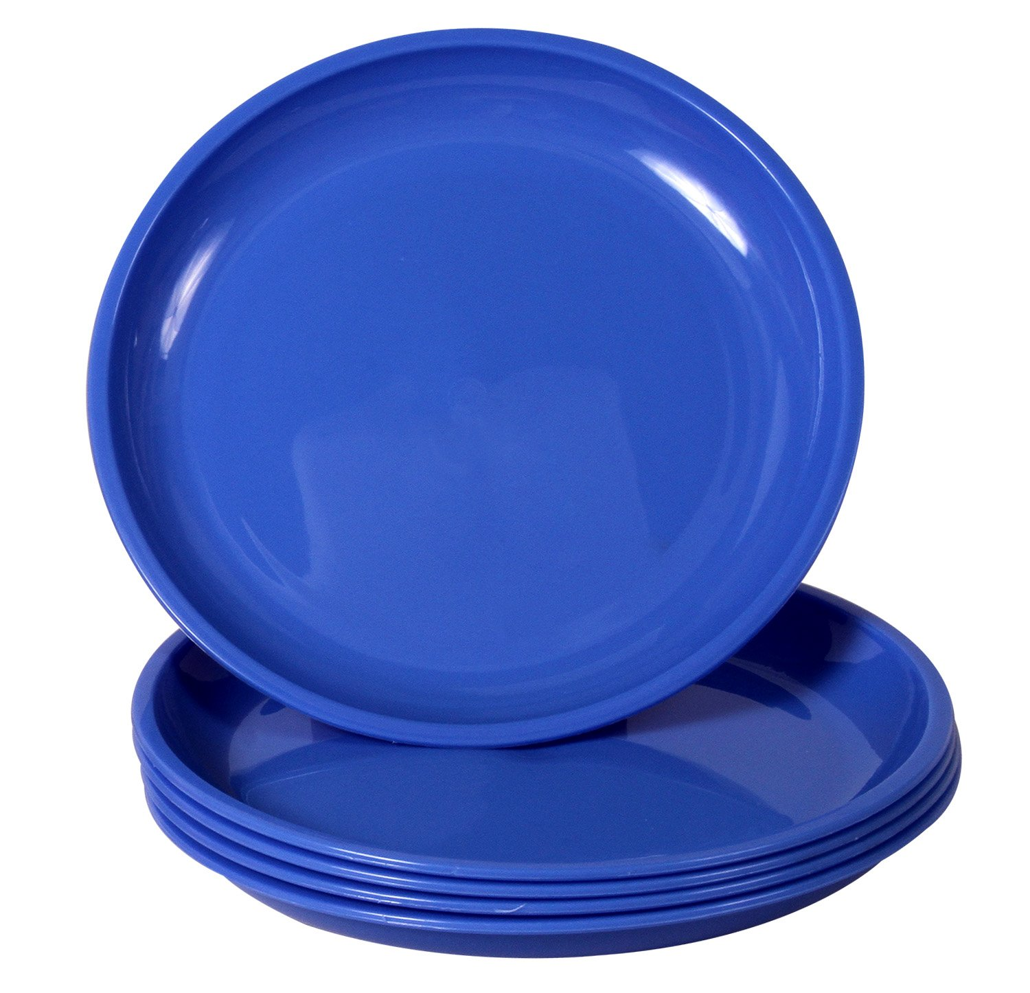 Buy Ruchi Round Dinner Plates 25.4cm Set of 6 Blue Online at Low Prices in India - Amazon.in  sc 1 st  Amazon.in : microwave dinner plates - pezcame.com