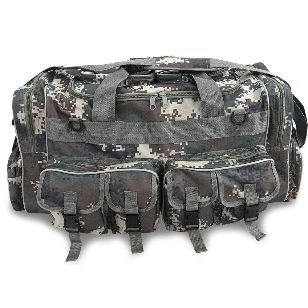 30 Large Men Duffle Bag Travel Luggage BS Black