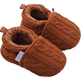 Ecosin Fashion Baby Shoes Sneaker Anti-slip Soft Sole Toddler Woolen Yarn Shoes
