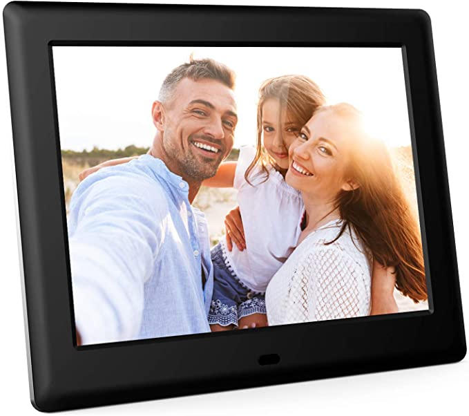 Photo//Video Player,Built-in 32GB Storage Support Alarm//Clock//Calendar//Remote Control Dailyfun 8 Inch Digital Photo Frame 1024 X 768 IPS Display Electronic Picture Frame,4:3 IPS LED Display