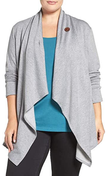 EVELUST One-Button Fleece Cardigan, Womens Soft Casual with Jeans ...