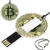 Bitcoin Flash Drive Clés USB - Lecteur Flash USB 32 Go avec Memory Stick