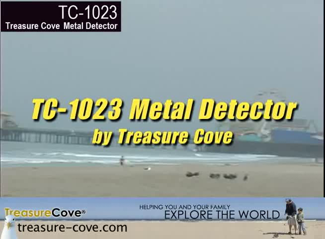 Treasure Cove TC-1023 Fortune Finder Metal Detector Kit, 3-Piece Metal Detector Kit with EASY-TO-READ Display, 10-Year Warranty