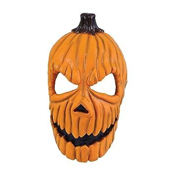 Bristol bm397 – Pumpkin Calabaza Máscara Calabaza Cabeza máscara Facial, Talla única Adultos, Multicolor
