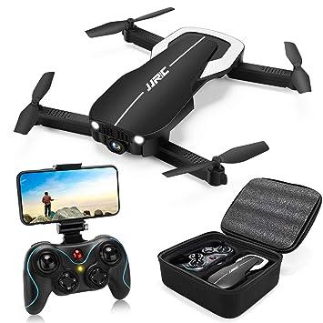 Drones JJRC H71 con cámara 1080P para adultos, dron plegable con ...