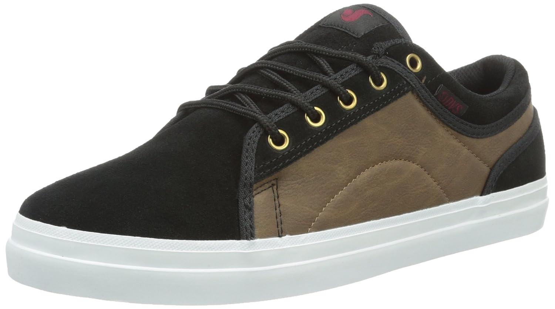 DVS Shoes Aversa, Chaussures de Skateboard Mixte Adulte, Noir, Taille Unique Schwarz (Black Brown Suede) 46 EU DVF0000227