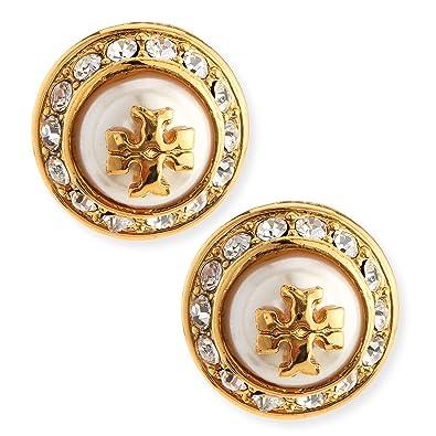 1f0846d5d Amazon.com: Tory Burch Natalie Stud Earrings: Jewelry