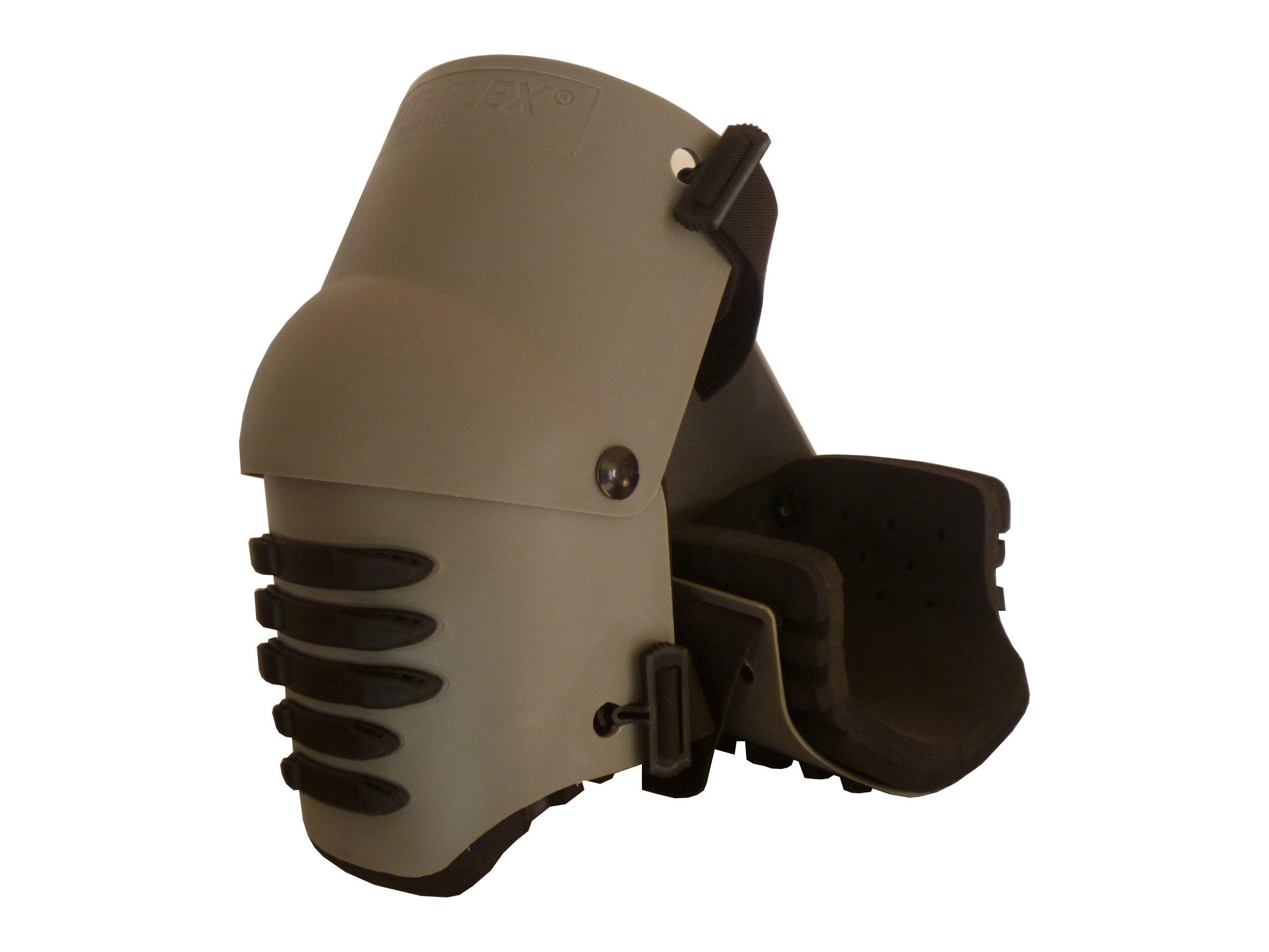 TSE Safety TSE-TFLX2.0 Knee Pad, One Size, Grey with Black Grip Strips