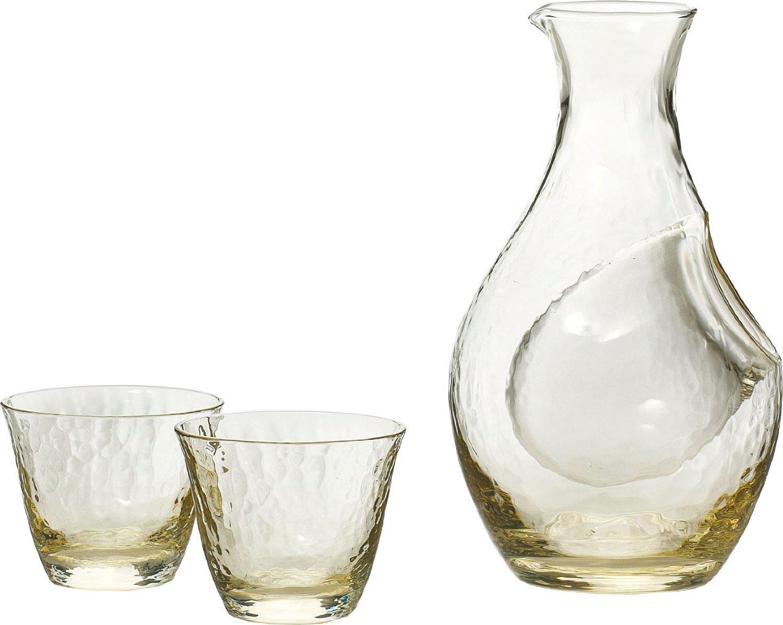 Orient Takase (amber) cold sake set G604-M72
