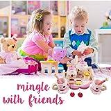 Playskool Tea Set | Set of 12 pcs Adorable Wooden