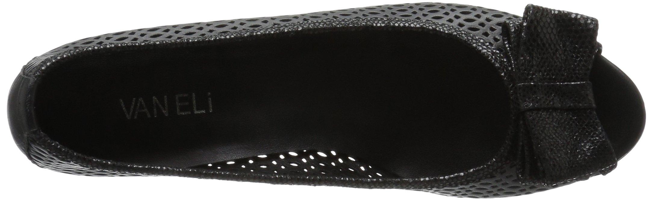 VANELi Women's Brinly Wedge Sandal, Black Perfed Nappa/Black Summer VIP, 9.5 N US by VANELi (Image #8)