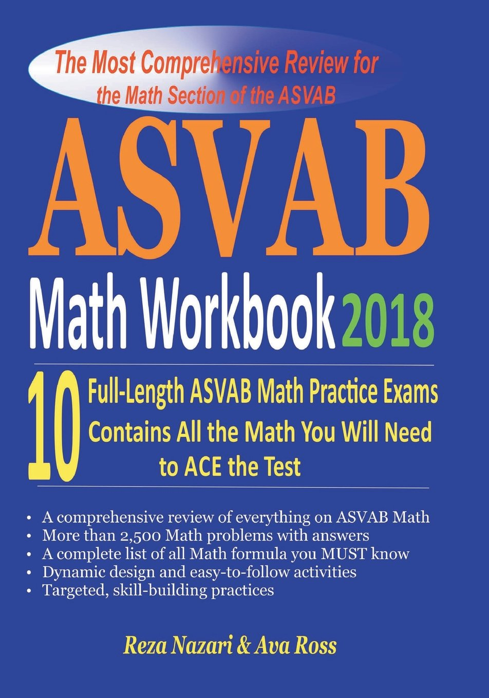 ASVAB Math Workbook 2018: The Most Comprehensive Review for