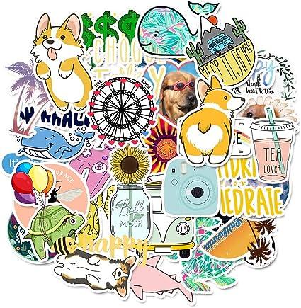 SZYND Dibujos Animados Simples niñas Kawaii Pegatinas para niños ...