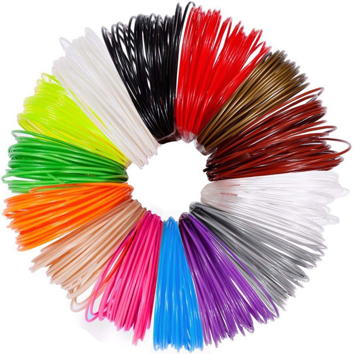 Amazon.com: 12 Colors PLA 3D Printer Filament 1.75mm 3D ...