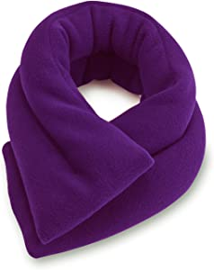 Sunny Bay Extra Long Neck Heating Wrap (Purple)