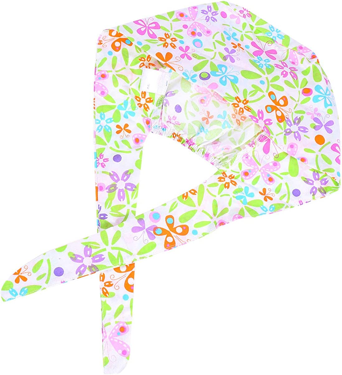 PRETYZOOM Unisex Scrub Cap Peeling Kappe OP Haube verstellbar Chirurgische Kappe Chemo Bouffant Cap Baumwolle Krankenschwester M/ütze Medical Cap f/ür Arzt Zahnarzt Koch Blumen