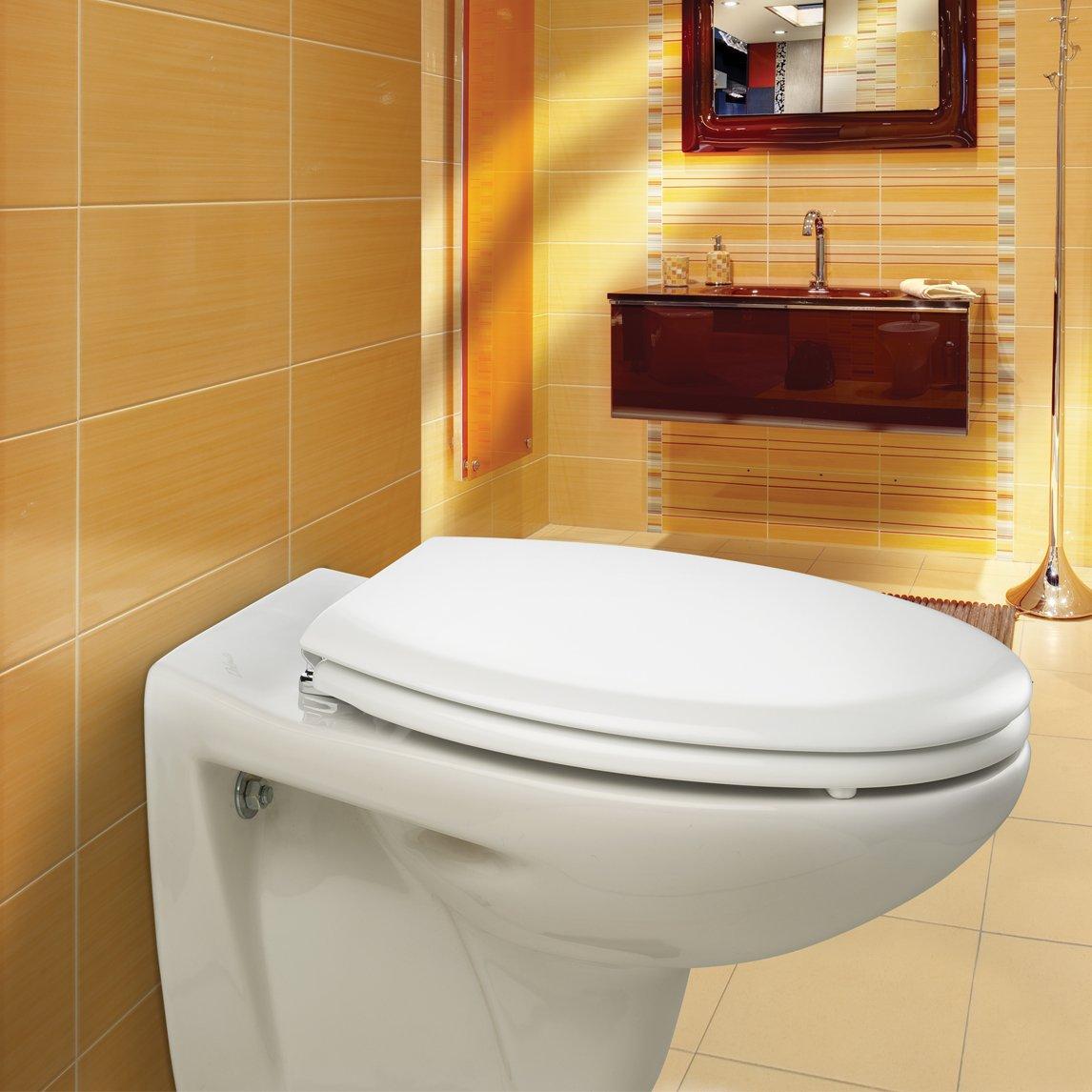 bemis white toilet seat.  Bemis New York Toilet Seat White Amazon Co Uk DIY Tools