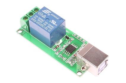 NOYITO 1-Channel 5V Computer USB Control Switch Relay Module Drive