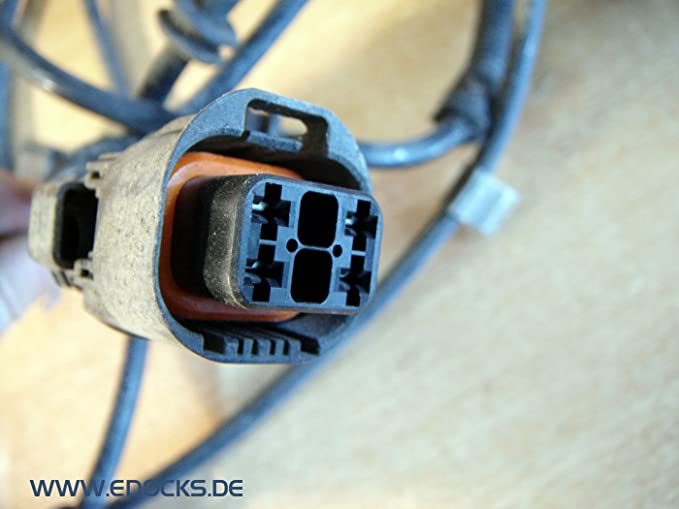 Rear wire harness Cable ABS Sensor Rear Axle OPEL ASTRA H Caravan ...