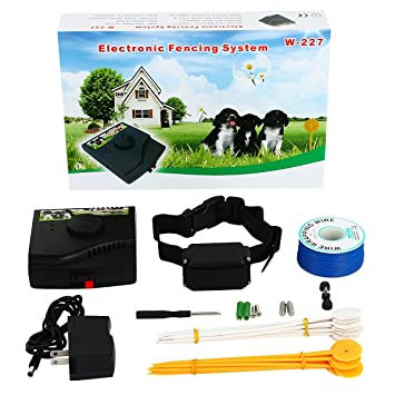 underground dog fence wired containment system ft wire diy kit for multiple dogs