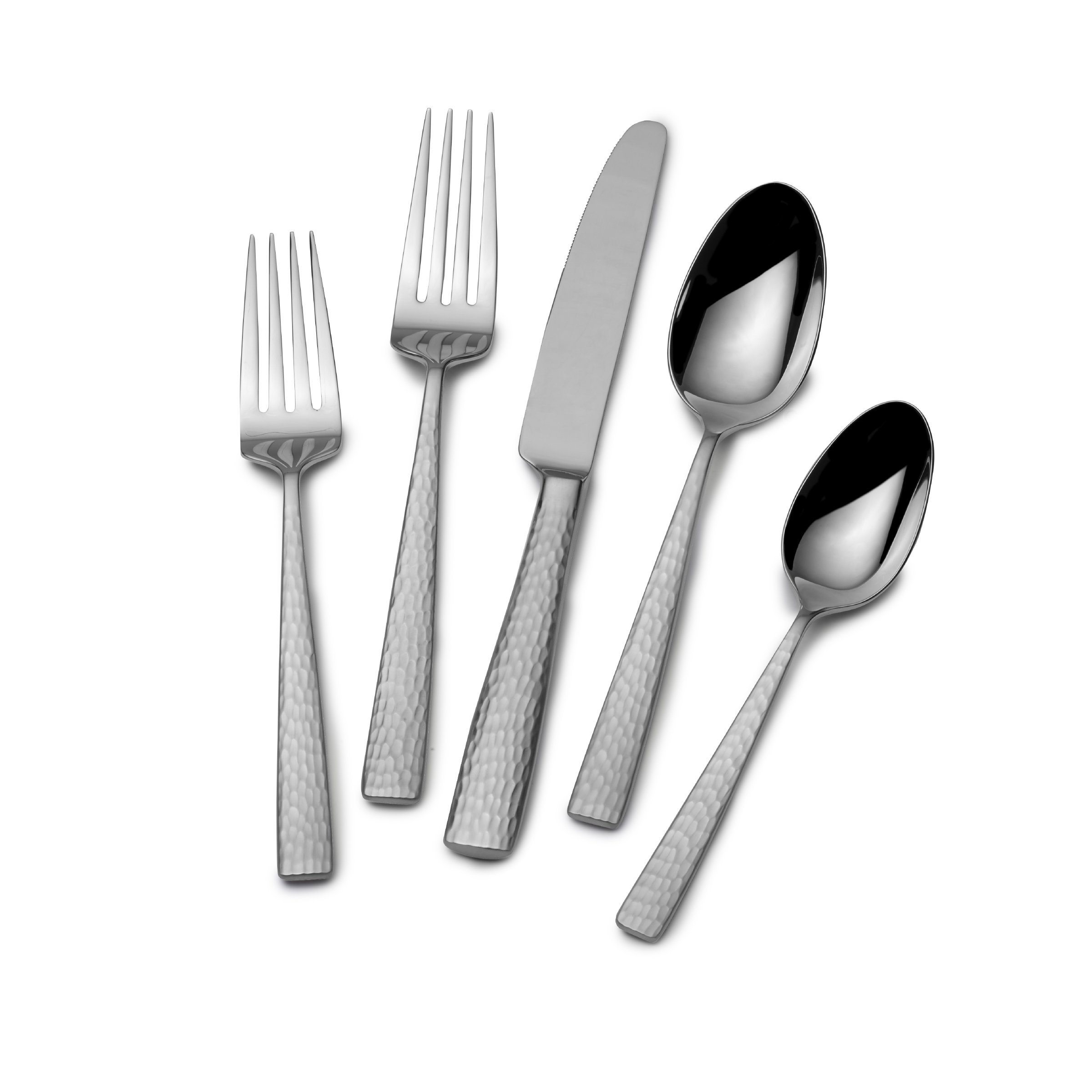 Mikasa Oliver 65-Piece 18/10 Stainless Steel Flatware Set with Serveware, Service for 12 by Mikasa