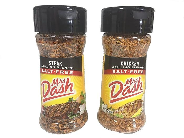 The Best Mrs Dash Grilling Blends