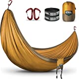 ETROL Hammock, Anti-Rollover/Bear up to 660lbs Double Hammock, Portable Lightweight 2 Person Hammock with Straps for…