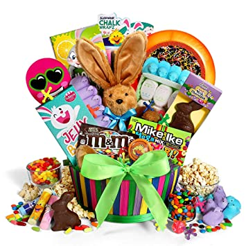 Easter Basket of Sweets & Treats Easter Chocolate, Easter Candy, Gourmet Chocolates, and