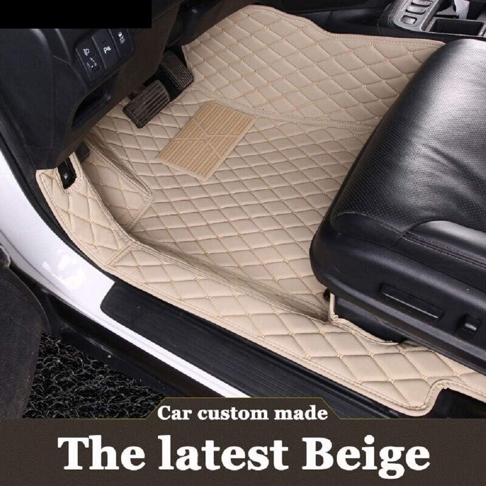 Beige Fu/ßmatten f/ür B ENZ CLA Class AMG 2014-2017 rutschfeste Abnutzung Bodenmatten-Leder Material Automatten Teppiche