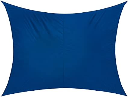 300 x 200 cm//Azul jarolift Toldo Vela Rectangular//Repelente al Agua