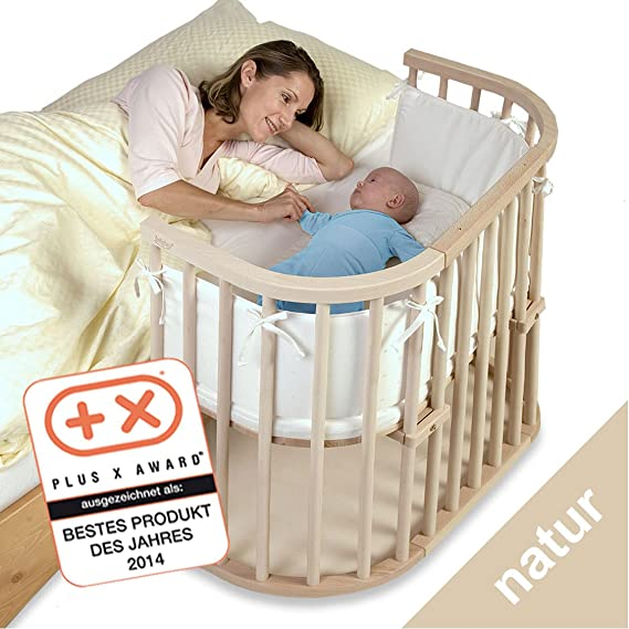 Babybay - Cuna esquinera multiusos en color natural [importado de Alemania]: Amazon.es: Hogar