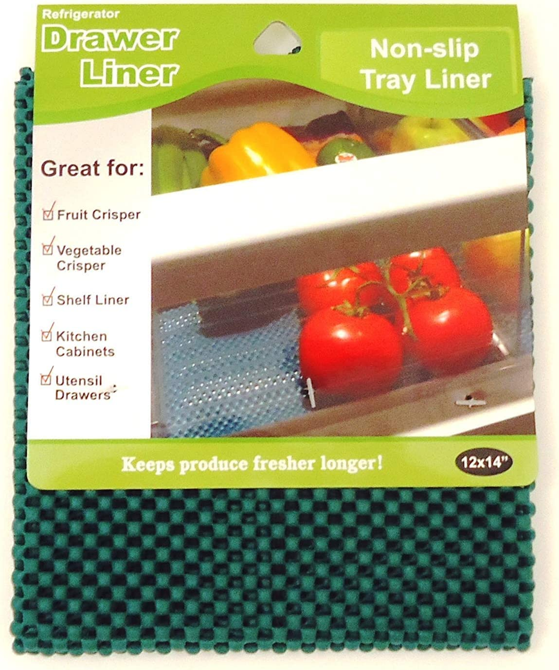 LaMi Products INC Economy Kitchen Non Slip Accessory, Refrigerator Drawer Liner - 2 Pack