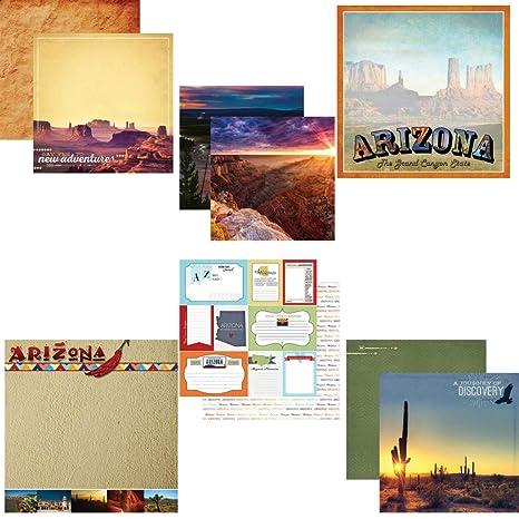 Amazon Com Custom Bundle Set Of 6 Arizona Grand Canyon
