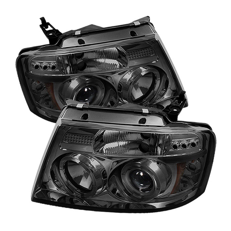 Amazon Spyder Auto Ford F150 Version 2 Black Halogen LED